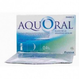 AQUORAL GOTAS OFTAL 0,5ML 20 U