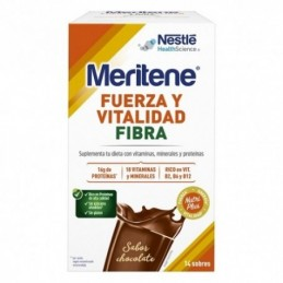 MERITENE FIBRA CHOCOLAT 14 SOB